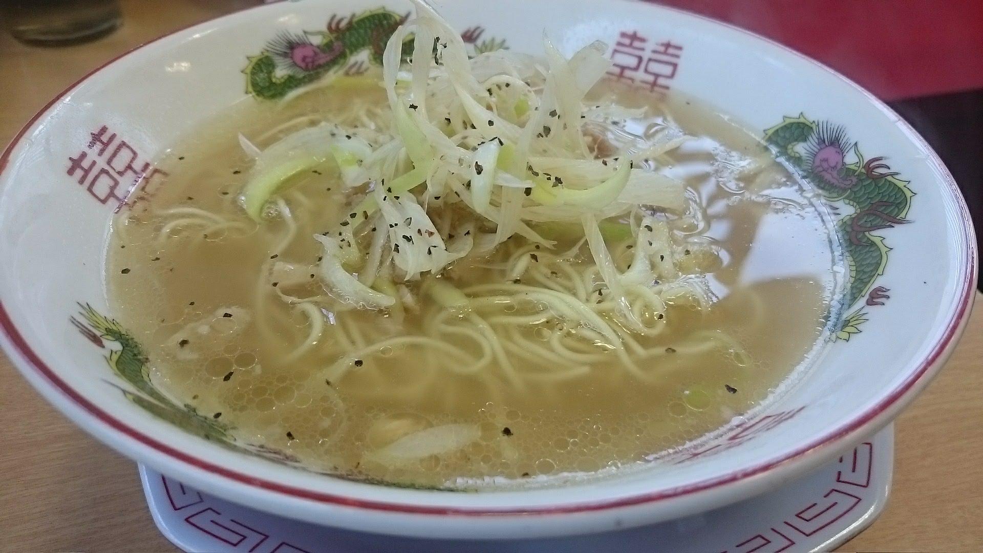 博多金龍-ネギ豚上湯麺