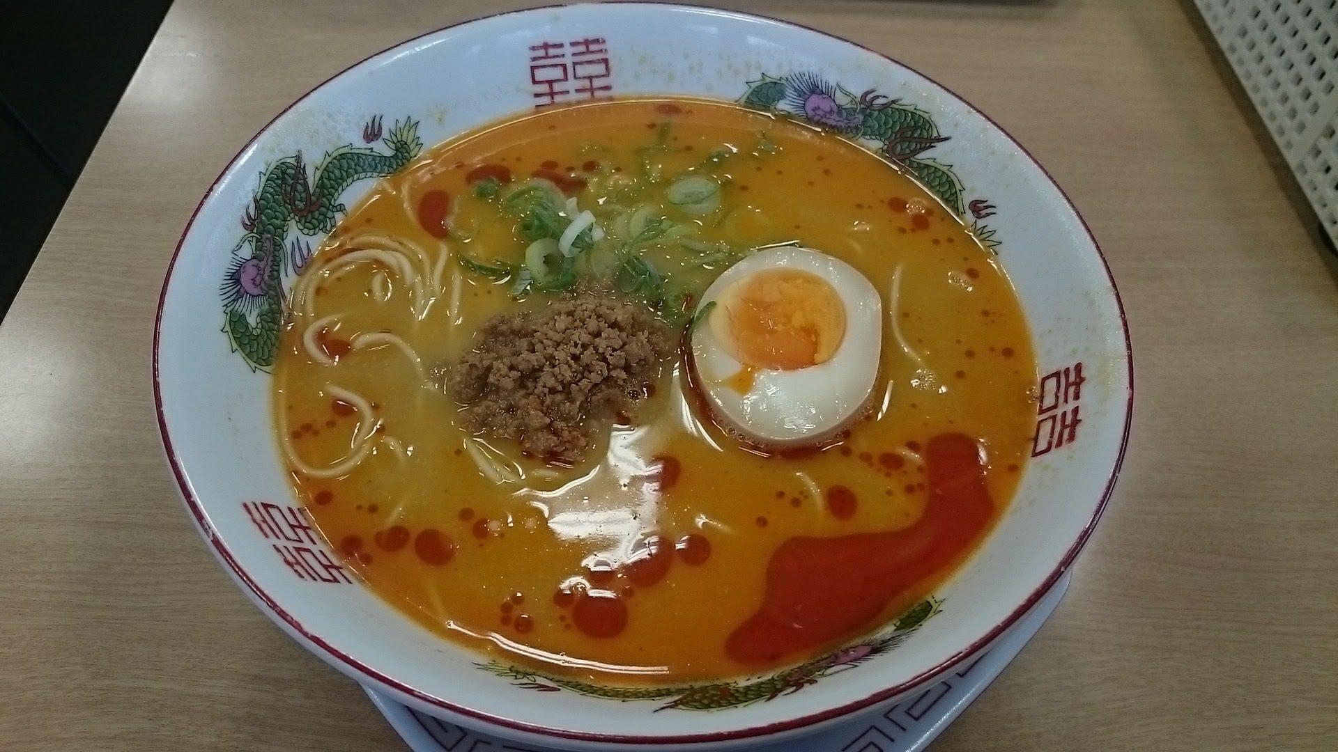 博多金龍担々麺