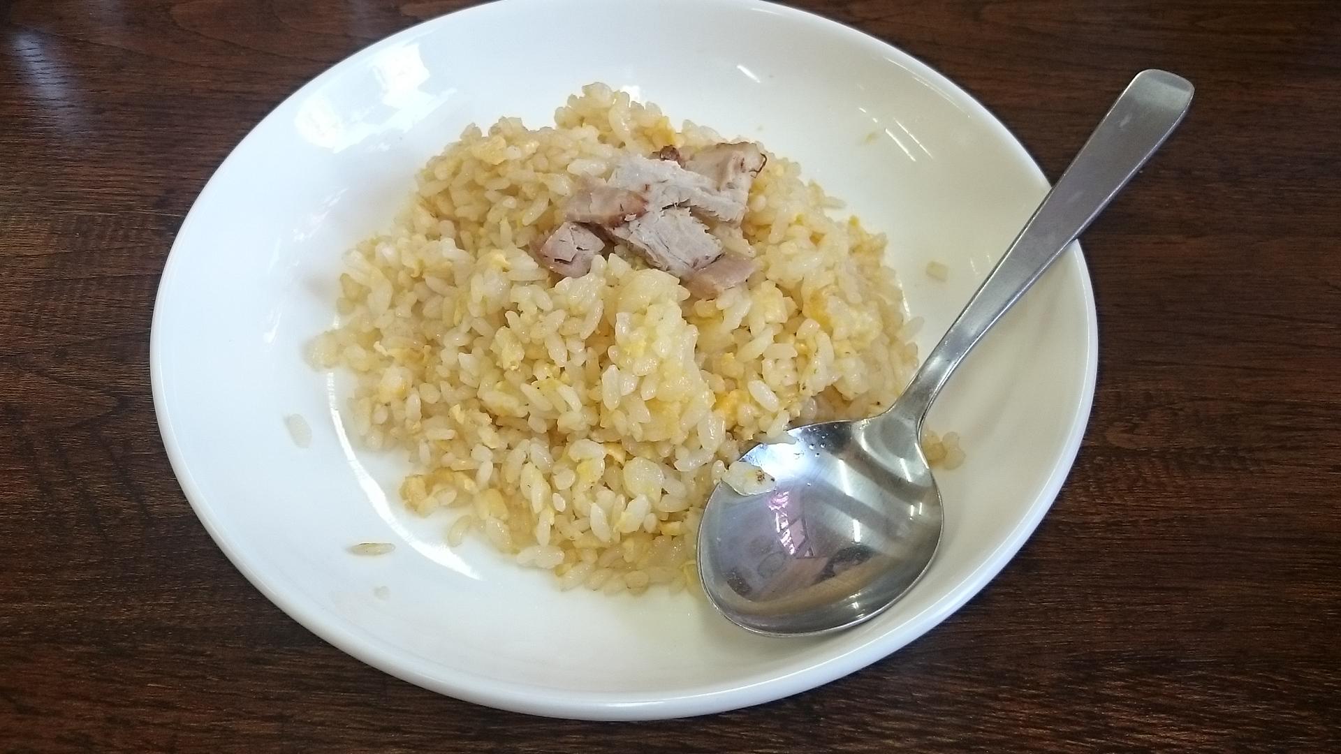 麺心のセットチャーハン