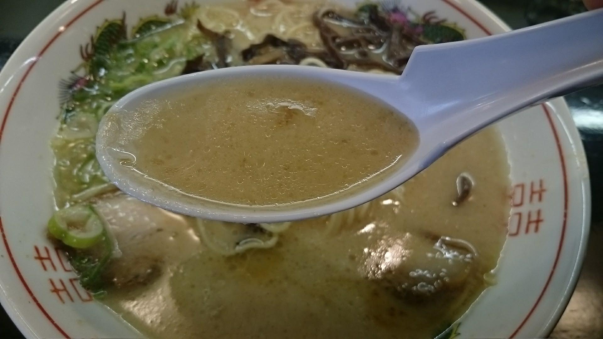 騎竜トンコツスープ