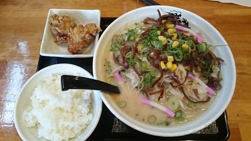 東龍軒のちゃんぽん定食