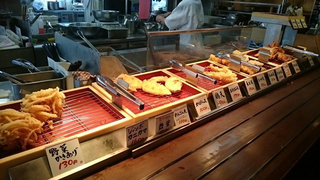 丸亀製麺行橋店の店内