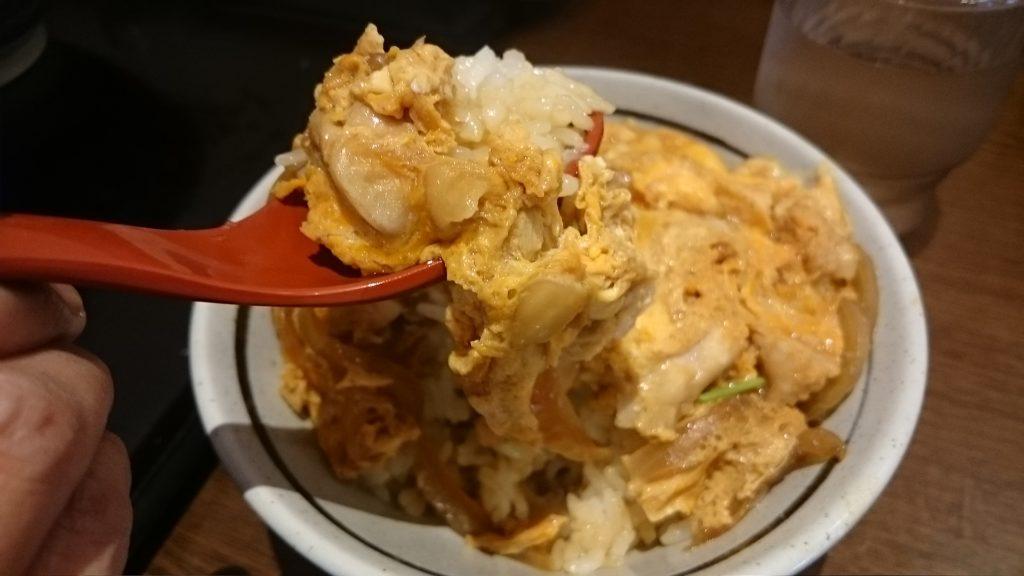丸亀製麺親子丼ミニアップ